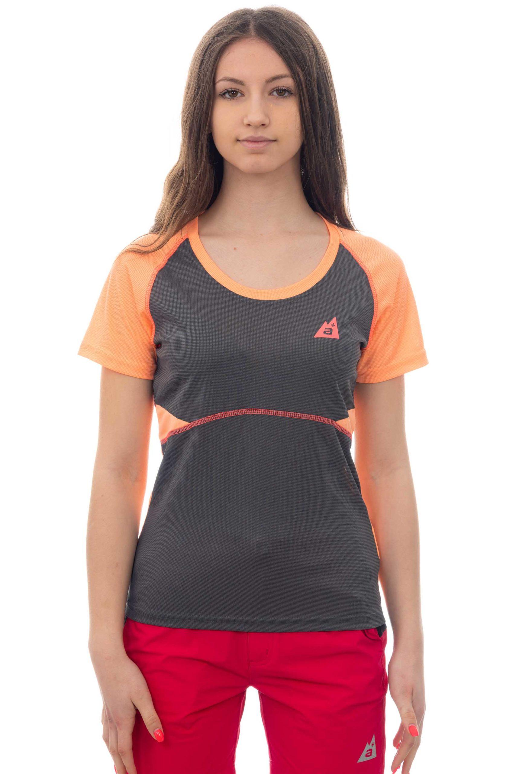 T-shirt donna traspirante running
