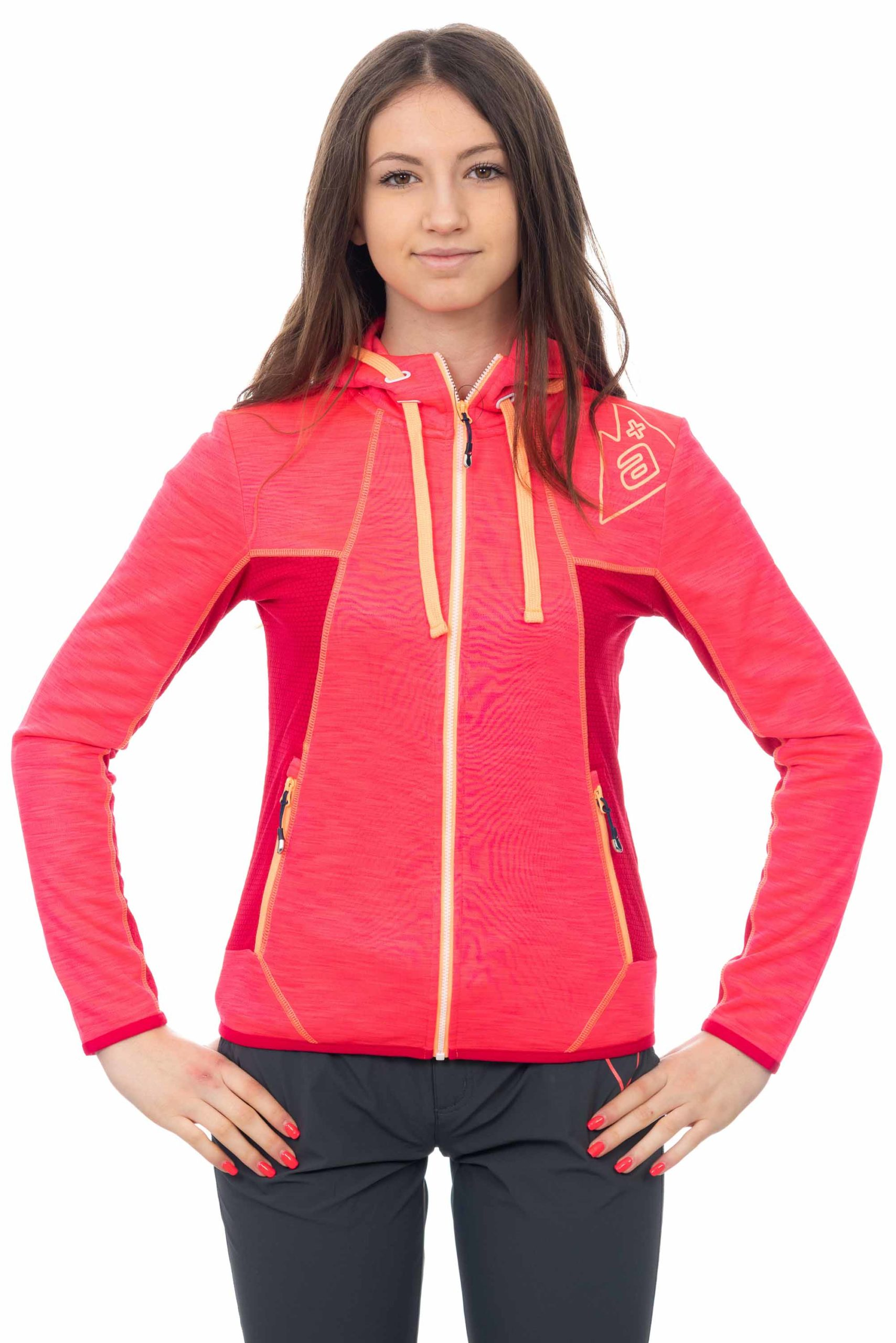 Felpa donna stretch outdoor